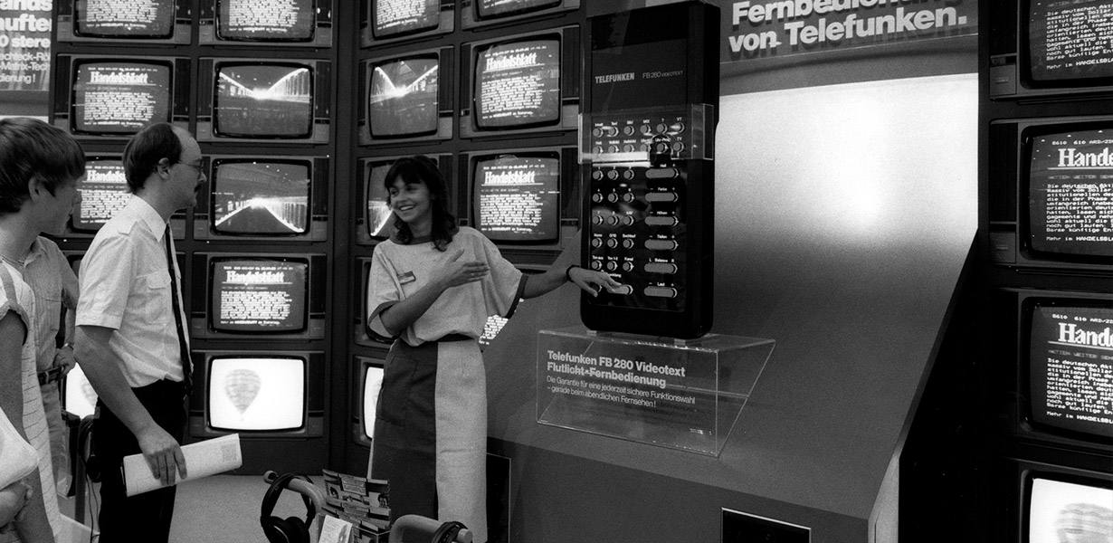90 Jahre TV gfu Consumer & Home Electronics